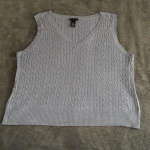 Lane Bryant Wool/Cashmere blend vest